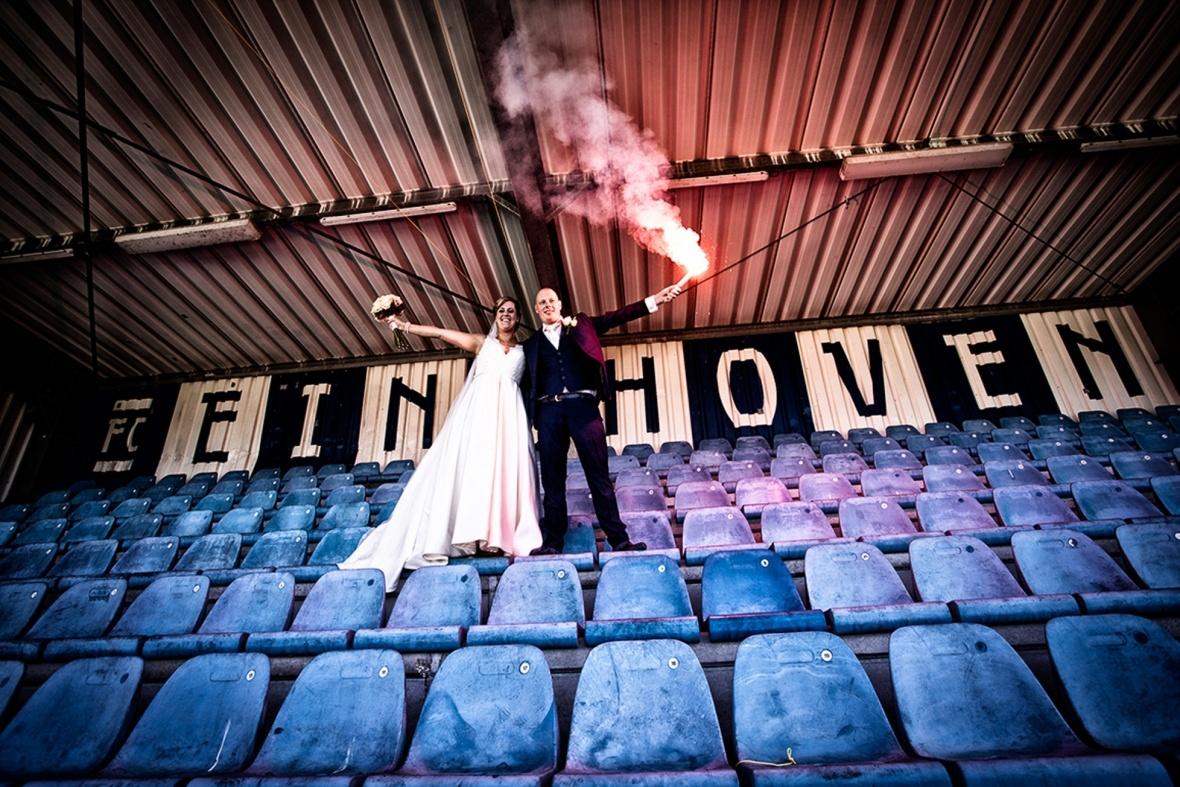 Bruiloft met een eigen sfeer...
